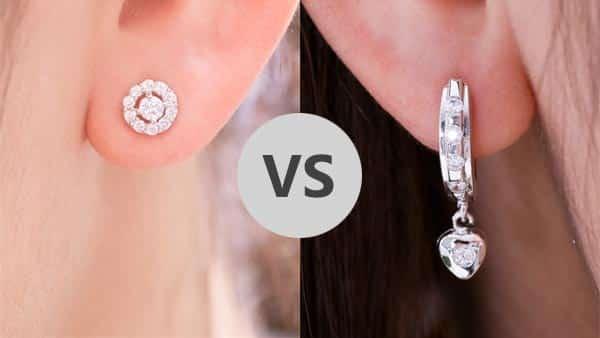 Stud Earrings vs. Drop Earrings
