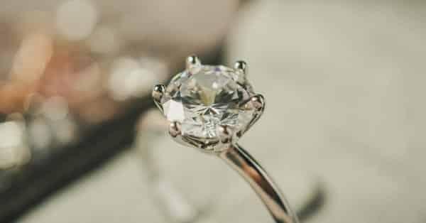 2-Carat Diamond Ring in a Jewelry Box