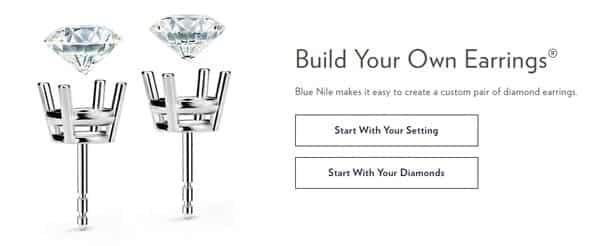 Blue Nile Build Your Own Earrings