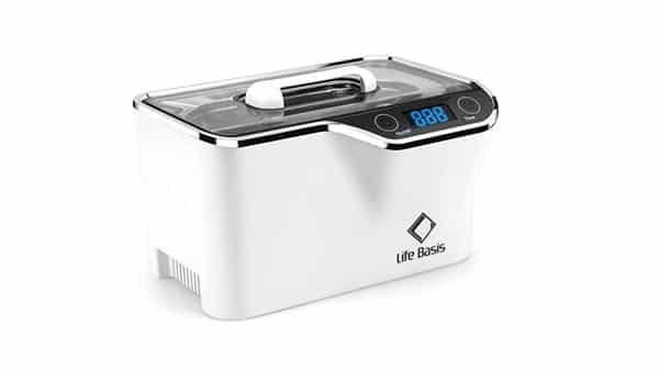 LifeBasis Ultrasonic Cleaner (Detachable Power Socket + Cooling Fan)