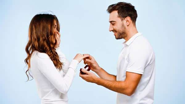 Engagement Ring and Marriage Proposal