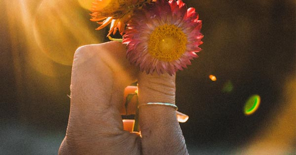 A Thumb Ring On a Woman's Thumb