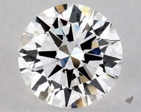F Color Diamond (1-Carat Excellent Cut VS1 Clarity)