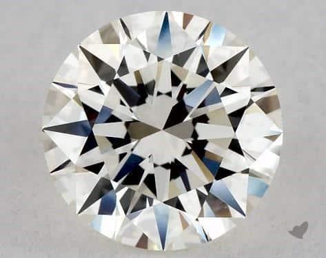 H Color Diamond (1-Carat Excellent Cut VS1 Clarity)