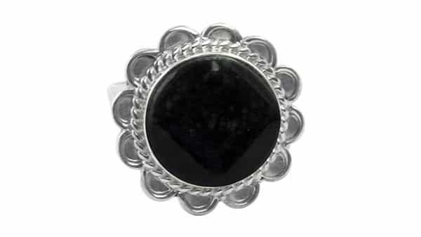 Black Jade Cocktail Ring