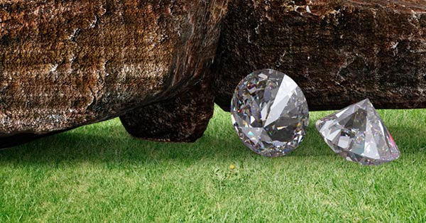 Conflict-Free Diamonds on Green Grass