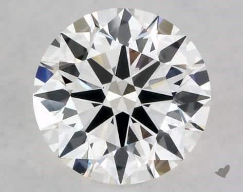 1.01-Carat Round Diamond