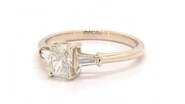 James Allen Three-Stone Diamond Ring
