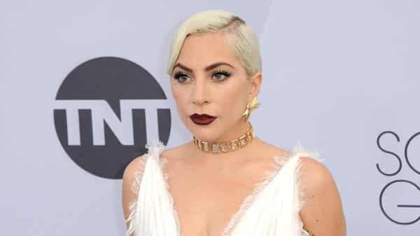 Lady Gaga Worn a Graphic Diamond Choker at the SAG Awards