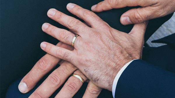 Men's Rings Worn to Signify a Commitment