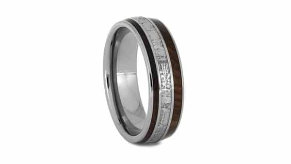 Redwood Meteorite Ring By Jewelry by Johan