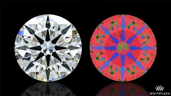 Round Diamond and Its ASET Image