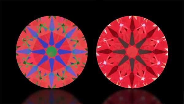 ASET Image vs. Idealscope Image (Whiteflash Diamond AGS-104112218022)