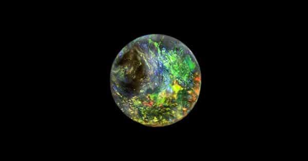Round Shape Opal Stone