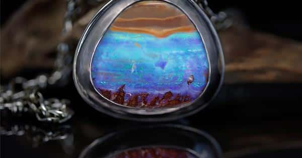 Wearing Blue Opal Jewelry for Energy Healing (Blue Opal Necklace)