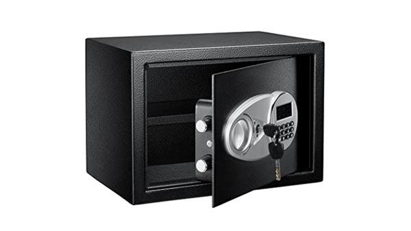 Amazon Basics Safe and Lock Box (Digital Electronic Security Keypad)