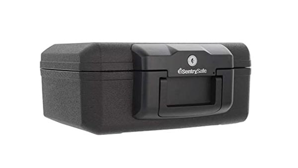 SentrySafe 1200 Fireproof Box (Compact Dimensions for Easy Storing)